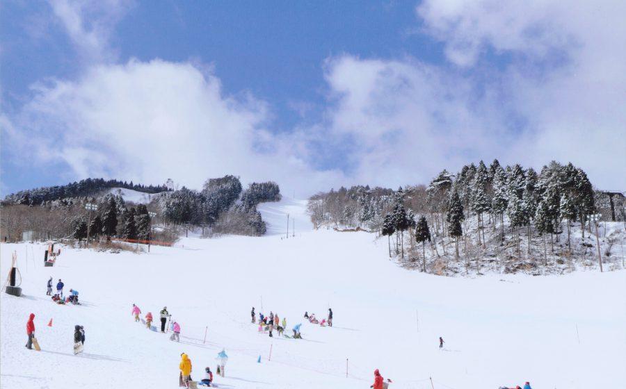 ちくさ高原スキー場がオープンしています!!